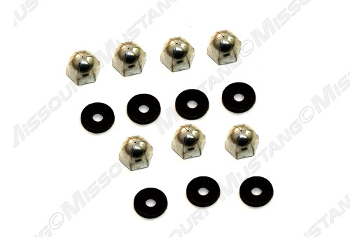 1971-1973 Ford Mustang hood lip molding mounting nuts.