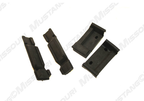 1979-1993 Ford Mustang radiator insulator pad set.