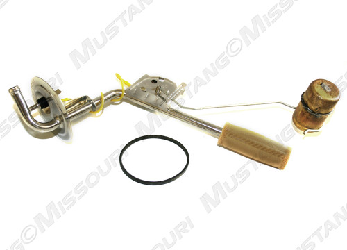 1964-1968 Ford Mustang fuel tank sending unit, stainless steel.
