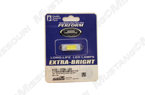 1971-1993 Ford Mustang LED dome and hatch light bulb.