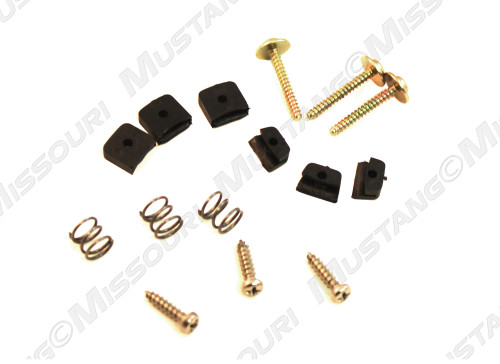 1965-1966 Ford Mustang deluxe steering wheel insulator hardware kit.