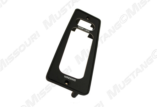 1987-1993 Ford Mustang window and door switch plate, convertible.