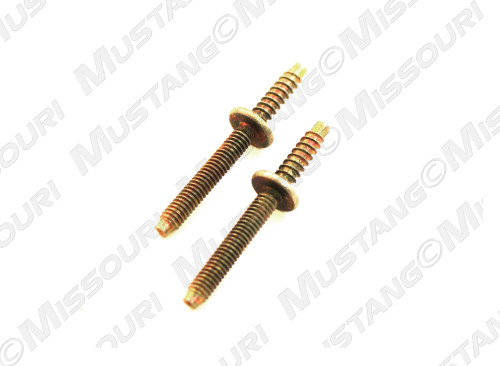 1970 Ford Mustang marker light studs, set of two.