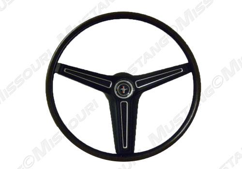 1970-1973 Ford Mustang deluxe rimblow steering wheel.