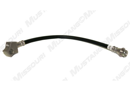 1964-1966 Ford Mustang rear brake hose, single exhaust, one required.