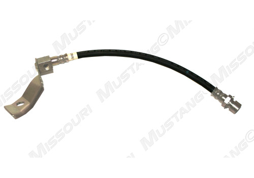 1967-1969 Ford Mustang rear brake hose, single exhaust, one required.