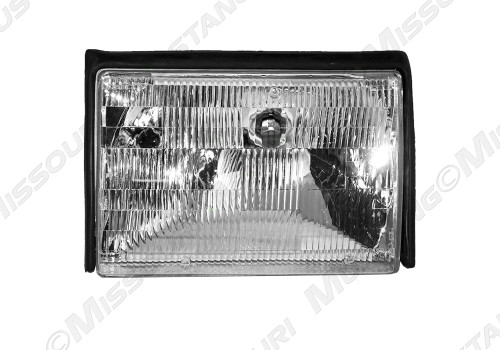 1987-1993 Ford Mustang headlight assembly.