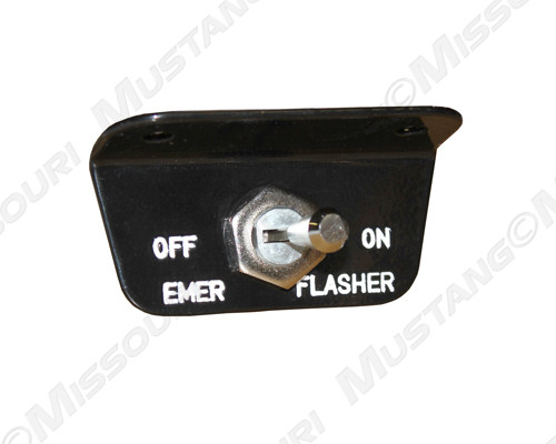 1966 Ford Mustang emergency flasher switch for models made after 03/01/66