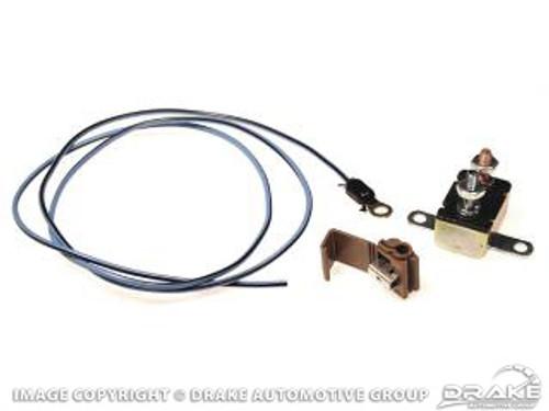 1965-1968 Ford Mustang fog lamp circuit breaker
