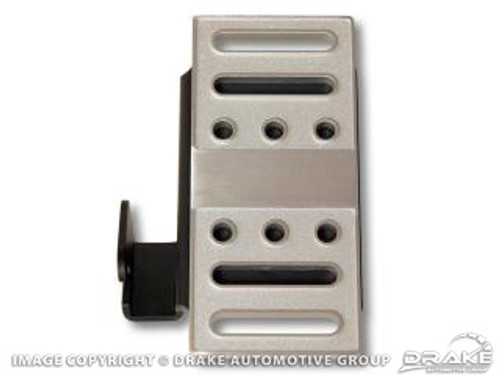 2005-2014 Ford Mustang dead pedal covers, billet