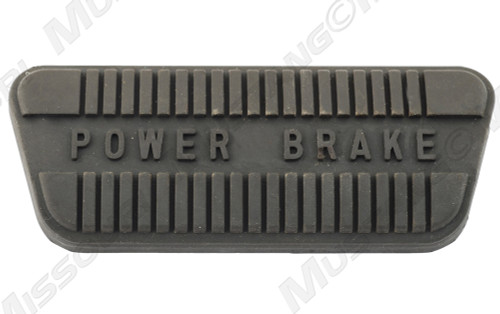1964-1967 Ford Mustang power brake pedal pad for automatic transmission