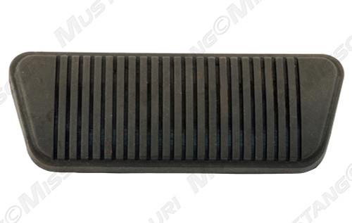 1968-1973 Ford Mustang automatic brake pedal pad, drum.
