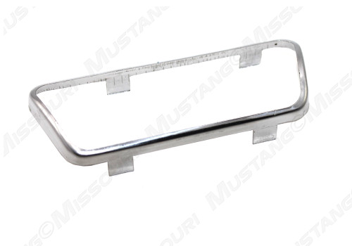 1965-1967 Ford Mustang brake pedal pad trim, with automatic transmission.