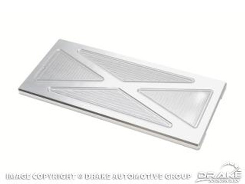 2010-2011 Ford Mustang fuse box cover, billet aluminum