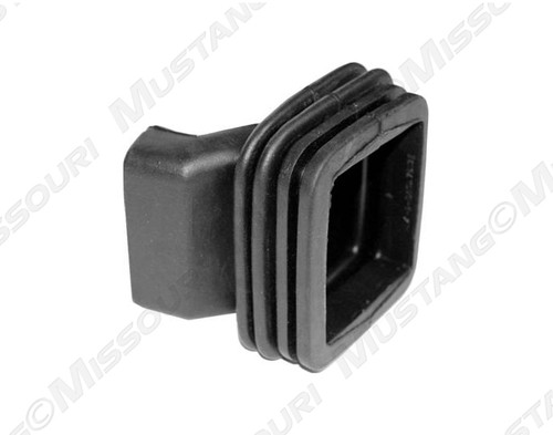 1967-1970 Ford Mustang clutch lever dust boot for big block engines.