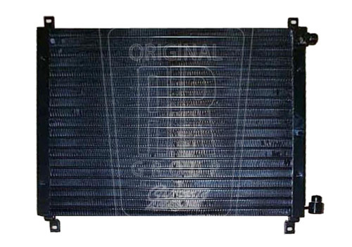 1967-1968 Ford Mustang A/C condenser, 6 circuit.