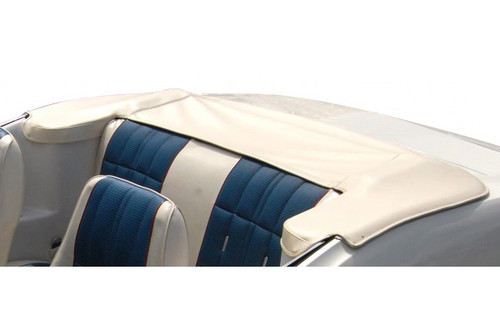 1971-1973 Ford Mustang convertible top boot. Slip tab fastener design.