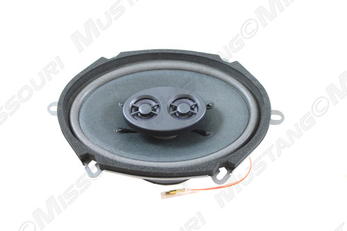 5 x 7 Dual Voice Coil Speaker.  Fits 1967-1973 Mustang dash.