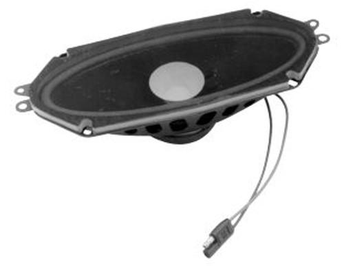 """1964-1966 Ford Mustang original dash speaker, 4"""" X 10""""."""
