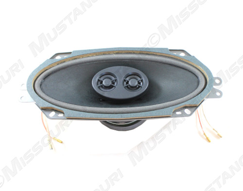 1964-1966 Ford Mustang 4 x 10 dual voice coil dash speaker.
