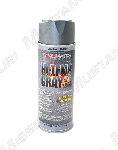 Hi-Temperature Gray Exhaust Manifold Paint