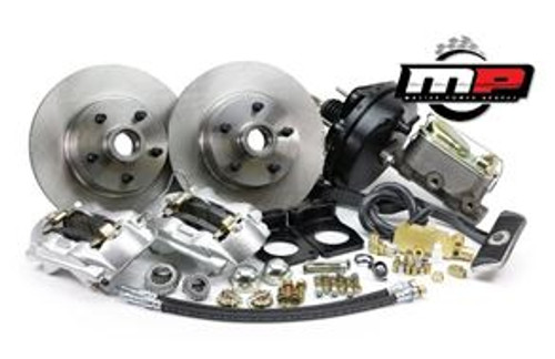 1967-1969 Ford Mustang Front Disc Brake Kit V-8 w/Power Booster & Master Cylinder