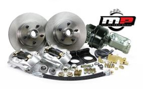 1970 Ford Mustang Front Disc Brake Kit V-8 w/Power Booster & Master Cylinder