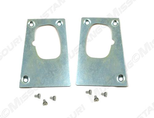 1964-66 Door Latch Repair Plates