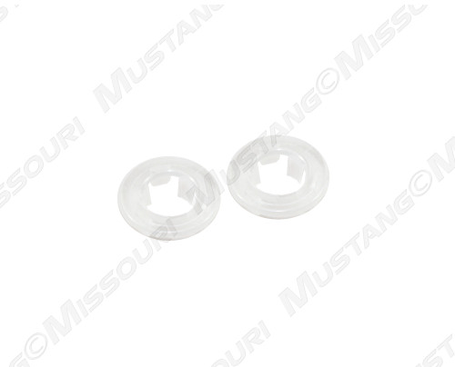 1965-1973 Ford Mustang door lock grommets, pair.