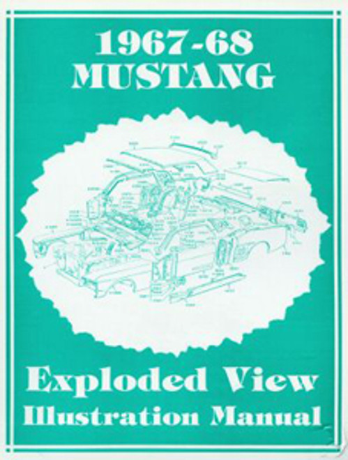 1967-68 Exploded View Illustration Manual
