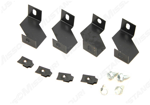 1964-1966 Ford Mustang fan shroud mounting bracket set.