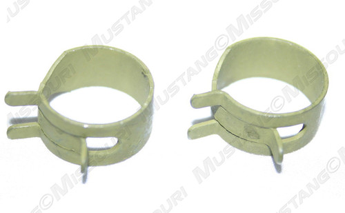 1969-73 Fuel Line Hose Clamps 3/8 in