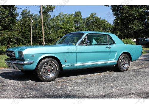 1965-1966 Ford Mustang GT stripe kit.