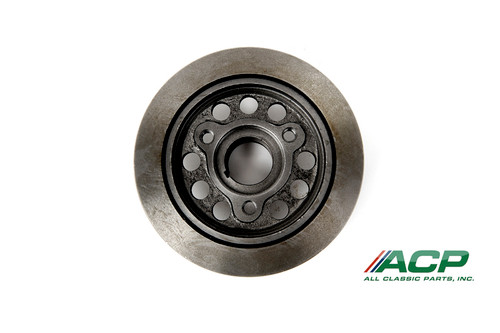 1964-70 Ford Mustang harmonic damper. Fits 170 & 200 six cylinder engines.