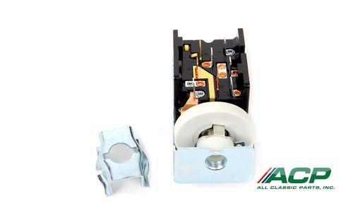 1971-72 Headlamp Switch