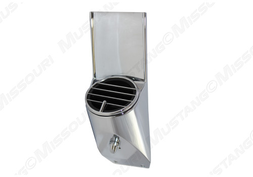 1967-1968 Ford Mustang air conditioning vent, passenger side.