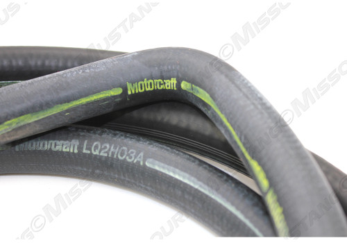 1973 Ford Mustang heater hose for models with factory air conditioning. Concours correct.