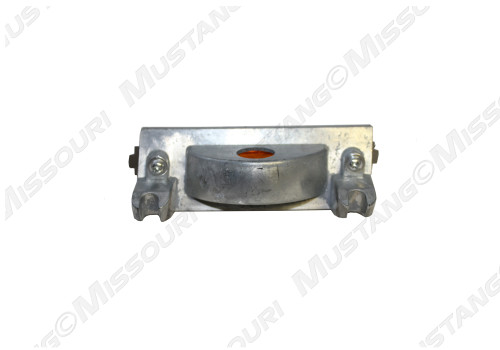 1969-1970 Ford Mustang hood scoop turn signal lamp assembly, back side.