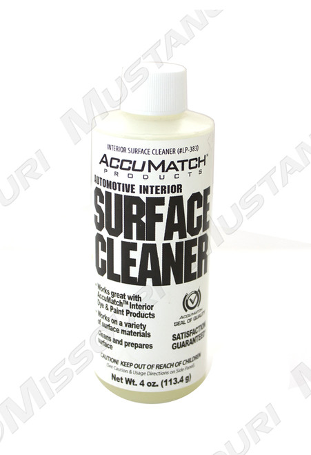 Surface Cleaner for Vinyl Dye