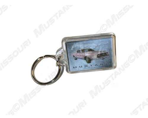 1968 & 2006 Mustang Key Ring