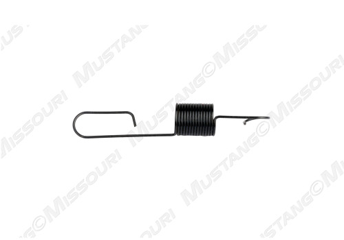 1971-1973 Ford Mustang automatic transmission kick down cable retracting spring, V8.