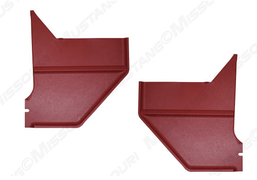 1967-1968 Ford Mustang Kick Panels Coupe Fastback