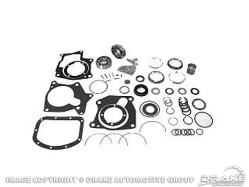 1964-65 Ford Mustang manual transmission master rebuild kit, 8 cylinder, 4 speed. Borg Warner T-10