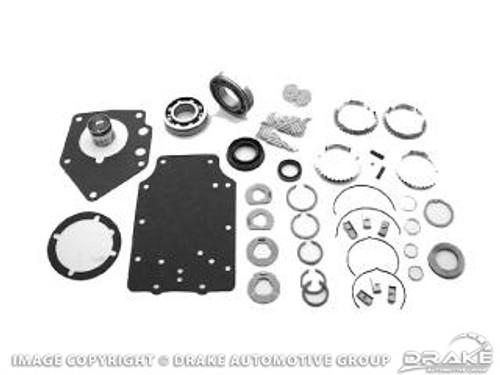 1964-1973 Ford Mustang manual transmission master rebuild kit, 8 cylinder, 4 speed toploader, (except 427, 428 and 429 c.i.).