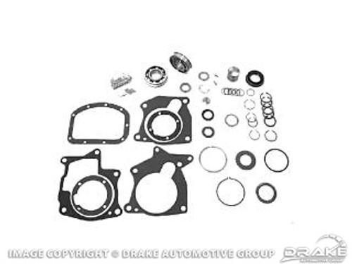 1964-1965 Ford Mustang manual transmission overhaul kit, 8 cylinder, 4 speed, Borg-Warner T-10.