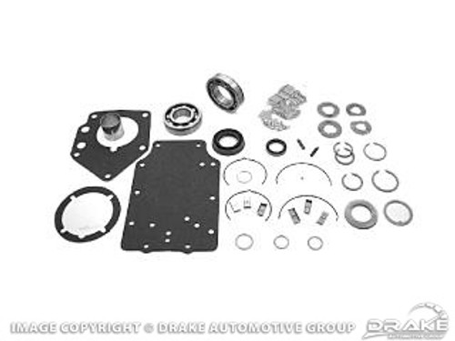 """1967-1973 Ford Mustang manual transmission overhaul kit, big block, 4 speed toploader with 1 3/8"""" input."""