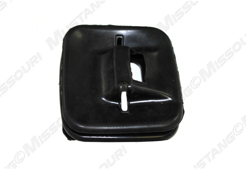 1964-1968 Ford Mustang lower shifter boot, 3-speed.