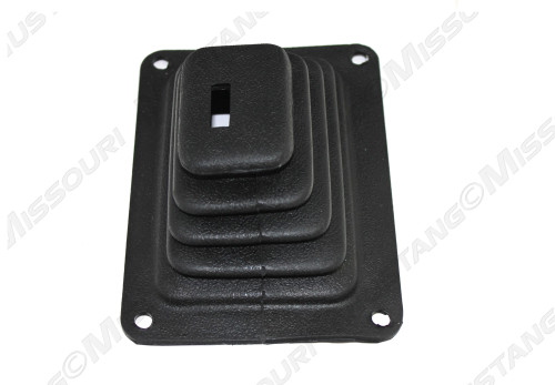 1970 Ford Mustang shift boot Hurst style, manual 4-speed.