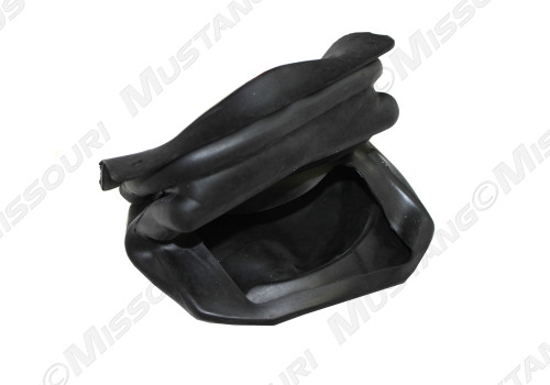1970 Ford Mustang lower transmission shifter boot. Fits Hurst 4 speed manual shifter.