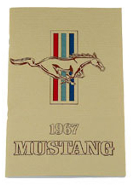 1967 Ford Mustang Owners Manual